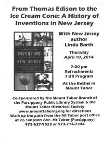 Author Linda Barth - Thursday, April 10, 2014